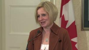 NDP Leader Rachel Notley speaks about her 'incredibly seasoned' caucus